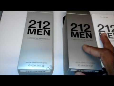 Real 212 Men Vs Fake 212 Men video