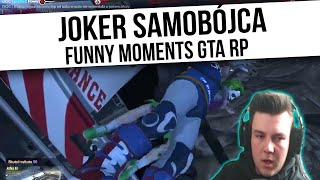 GTA RP | JOKER SAMOBÓJCA | Funny Moments  from Fumfeel Shoty