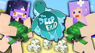 Becoming TURTLE MOMS w/ iHasCupquake | The Deep End | Ep 2