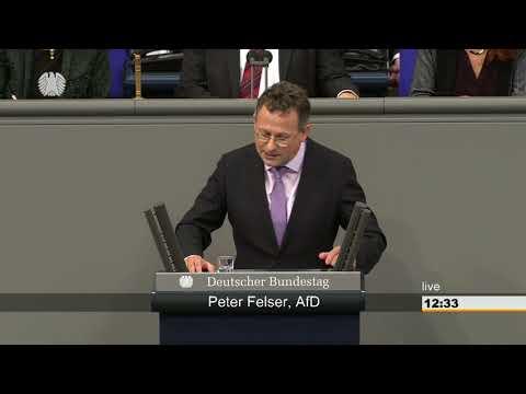 Peter Felser: Ernährung und Landwirtschaft [Bundestag 23.03.2018]