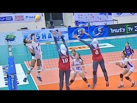 Mylene Paat doing damage for Team Pilipinas! | 6th Asian Women's Volleyball Cup 2018