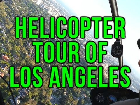 Helicopter Tour of Los Angeles During E3