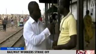 Railway Workers Strike off - New Desk (22-7-14)