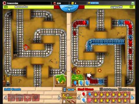 Bloons TD Battles #21: Dart Monkeys Amazing Strategy!
