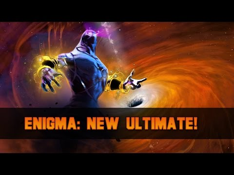 Dota 2 Enigma World Chasm Artifact New Black Hole Effect