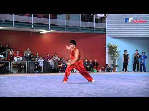 Championnat de France 2012 de Wushu Taolu / Nan Quan Seniors - Dany Perellon