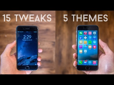 Top 20 Cydia Tweaks/Themes for iOS 8 (iPho