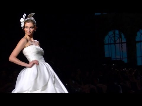 Pronovias 2013 Bridalwear Show ft Top Models in Luxurious Wedding Gowns | FashionTV