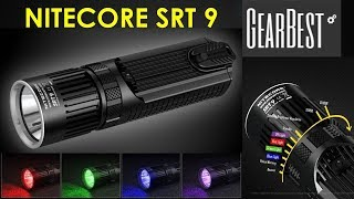 Best Flashlight of 2017 - The Nitecore SRT9 only $79.95 at GearBest!!!