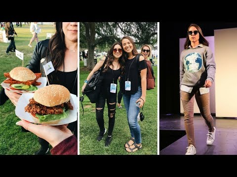 Eat Drink Vegan + I was in a Fashion Show?! (LA Vlog)