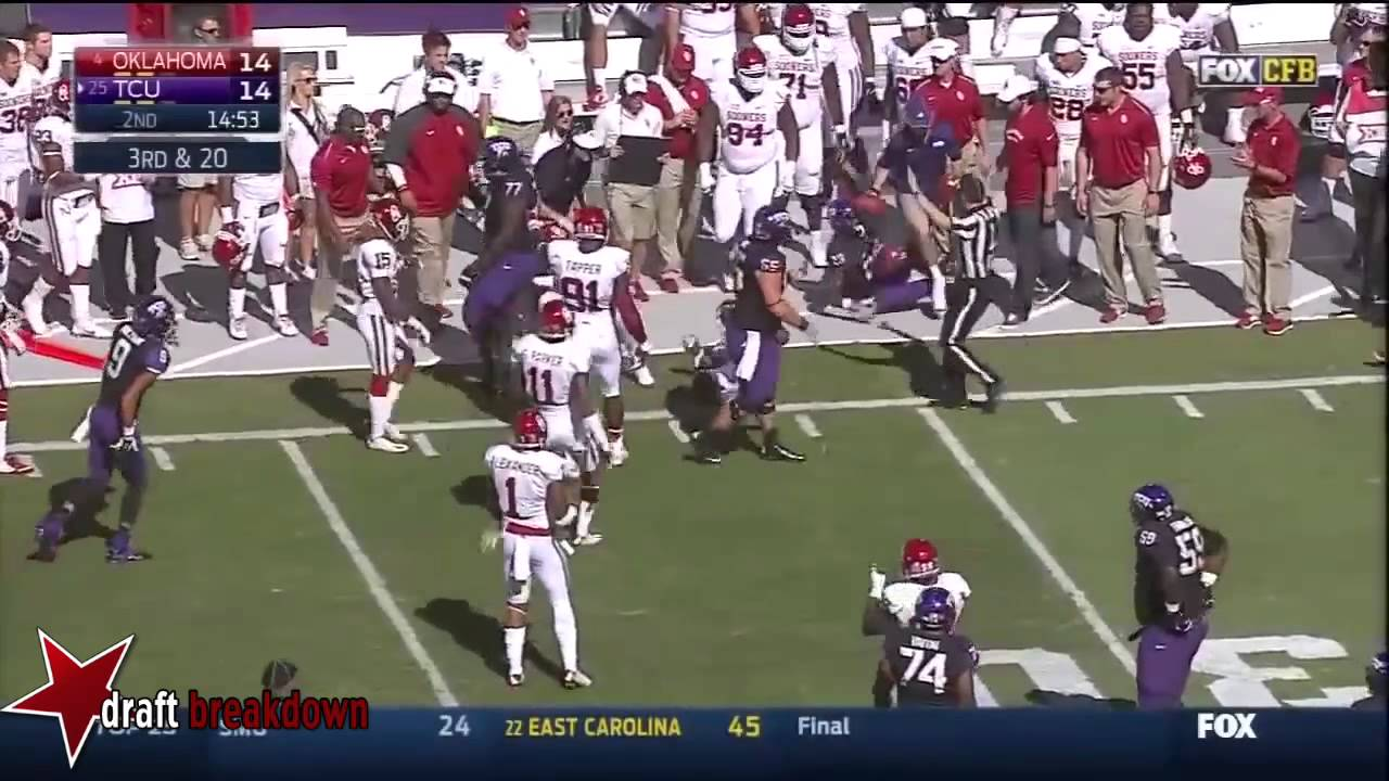 Trevone Boykin vs Oklahoma (2014)