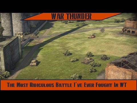 War Thunder - The Most Ridiculous Battle I've Ever Fought In WT thumbnail