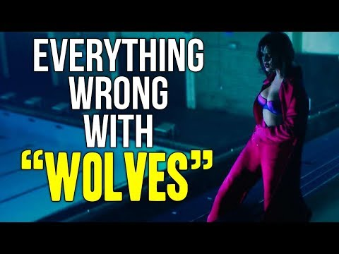 Everything Wrong With Selena Gomez  Marshmello    quot Wolves quot