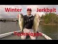 How to Fish Suspending Jerkbaits for Winter Bass - Lake Dardanelle
