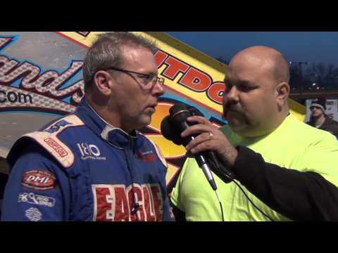 Susquehanna Speedway Park 410 Sprint Car Victory Lane 11-15-14