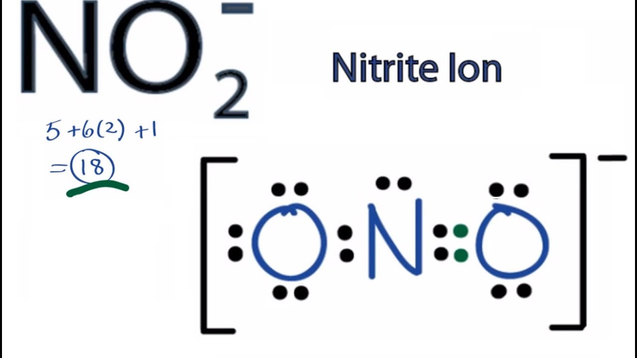 N2o Lewis Structure Lewis Structure for NO2-