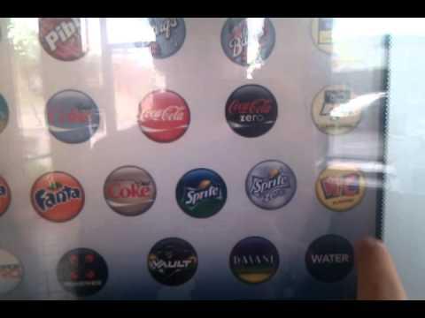 Coke Drink Machine New Coke Fountain Drink
