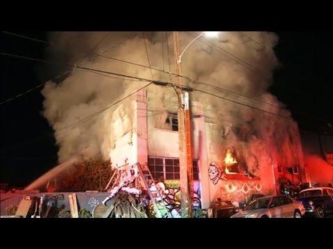 9 die in California building fire