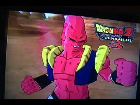 Dragon Ball z Budokai Tenkaichi: 3 Mystic Gohan VS Majin Buu Gotenks Absorbed
