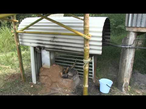 How to Build a Rocket Stove Mass Water Heater. with Geoff Lawton