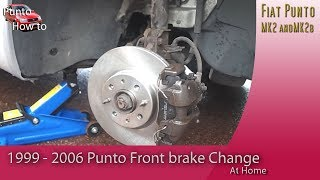 Chaning Brake Discs and Pads on a Fiat Punto