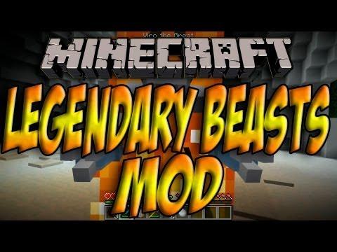 Minecraft 1.5.1 - Como Instalar LEGENDARY BEASTS MOD - ESPAÑOL [HD] 1080p