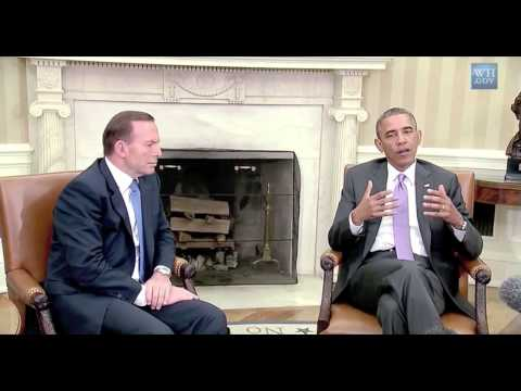 Obama's comments on meeting with Abbott