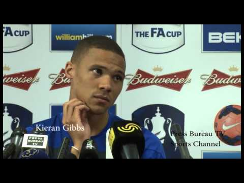 Kieran Gibbs FA Cup Press Conference