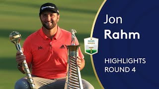 Jon Rahm wins $5million in Dubai | Winning Highlights | 2019 DP World Tour Championship, Dubai