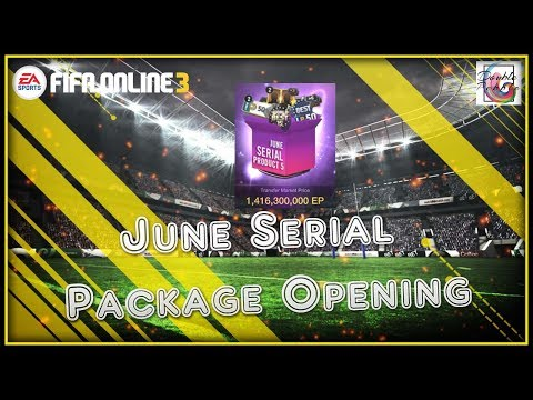 WorldBest Top 15 Draft Pack Sial!!! - June Serial Package Opening - FIFA ONLINE 3 (ENGLISH)