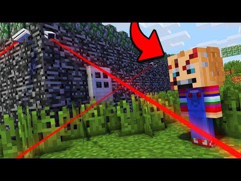 КУКЛА ЧАКИ ПРОТИВ САМЫЙ ЗАЩИЩЕННЫЙ ДОМ В МАЙНКРАФТ троллинг нуба Minecraft Мультик для детей