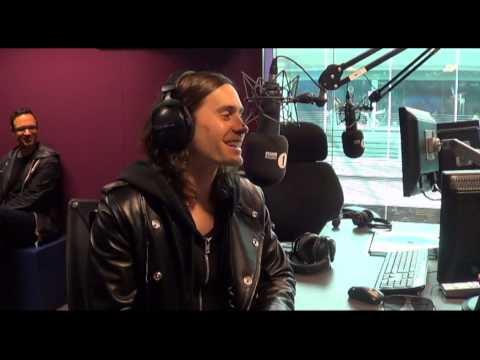 Jared Leto chats with Radio 1's Grimmy Pt 1