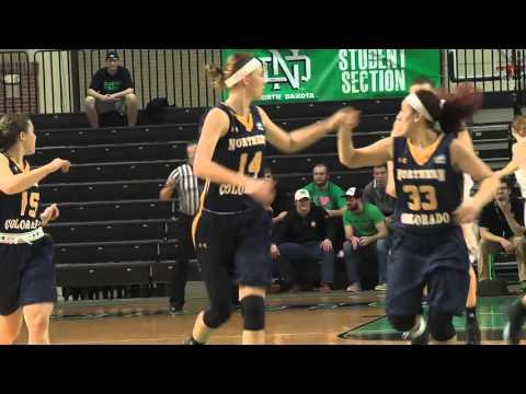 UND Women's Basketball vs. Northern Colorado Post Game Wrap - Jan. 30