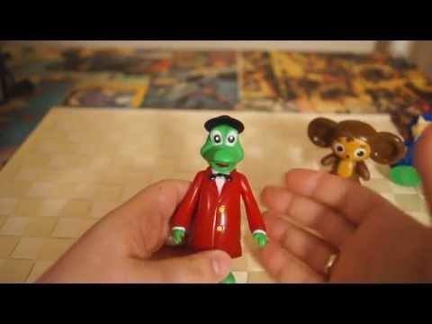 Чебурашка и Крокодил Гена - Вредные игрушки