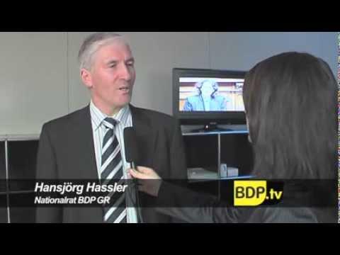 Interview mit Nationalrat Hansjörg Hassler (BDP GR) zur Sonderdebatte Milchpreise, 2009
