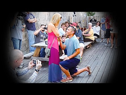 The Greatest Texas Marriage Proposal EVER!!!!