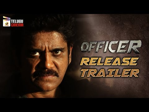 Officer Movie RELEASE TRAILER | RGV | Nagarjuna | Myra Sareen | #Officer | Mango Telugu Cinema