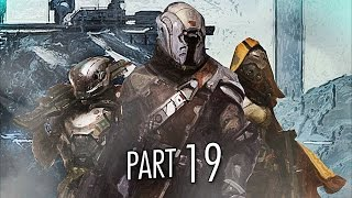 Destiny Gameplay Walkthrough Part 19 - Buried City - Mission 19 (PS4)