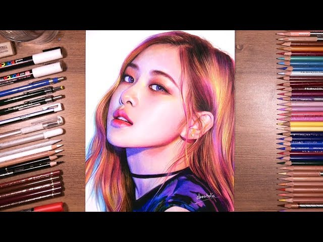 Drawing BLACKPINK RosГ  drawholic