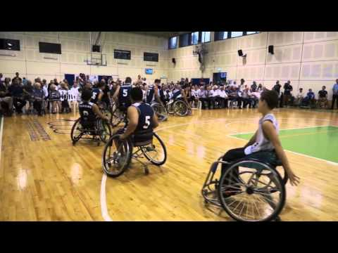 New Gym Inauguration - Israel Sport Center for the Disabled October 2015