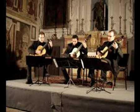 Trio Chitarristico Siciliano P.Bellinati, Baiao de gude