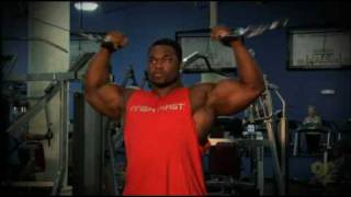 Brandon Curry Episode #2 of 9 Bicep Training Part 1 of 2
