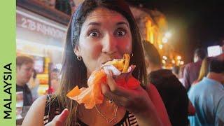 Malacca, MALAYSIA: Jonker Street food & Melaka river cruise   vlog 3