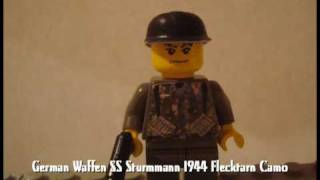 Lego ww2 uniforms and equipment