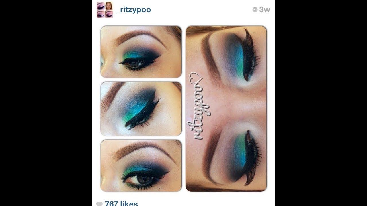 Mermaids Look Mermaid Inspired Makeup Look