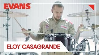 Eloy Casagrande: Percussion Test Subject EC-005 | Evans Drumheads