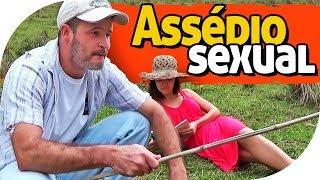 ASSÉDIO SEXUAL - PIADA DE PESCARIA - PARAFUSO SOLTO