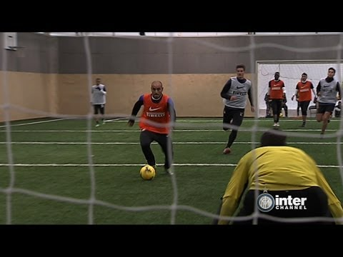 ALLENAMENTO INTER REAL AUDIO 19 02 2014