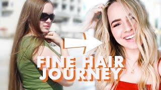 Fine Hair Tips and Tricks (My Fine Hair Journey) - KayleyMelissa