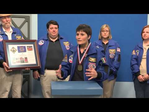 Sam Cristoforetti - 2014 Space Camp Hall of Fame Induction Ceremony